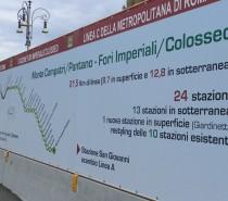 Next stop Colosseo – Osservatorio sui cantieri della fermata Fori Imperiali/Colosseo della metropolitana C di Roma (e non solo)