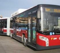 La flotta Tper di Bologna si rinnova con 23 nuovi bus a metano