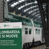 Presentato il Vivalto di Trenord, il primo dei 63 nuovi treni per i pendolari lombardi