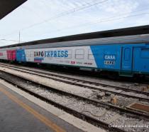 Da Venezia parte ExpoExpress il treno-mostra dell'esposizione universale del 2015