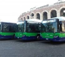 Tredici nuovi bus per Verona e provincia