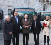 Presentati 33 nuovi bus Euro 6 della Trieste Trasporti