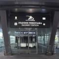 L'ingresso della stazione Aeroporto - Foto Ferrotramviaria spa