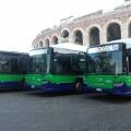 I nuovi bus Scania dell'ATV - Foto Comune di Verona