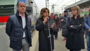 Il presidente della Regione Veneto Zaia e l'AD Trenitalia Morgante presentano il primo treno Swing per il Veneto - Foto profilo FB Luca Zaia