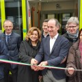 Il presidente della Regione Veneto Zaia e l'AD Trenitalia Morgante inaugurano il primo treno Swing per il Veneto - Foto profilo FB Luca Zaia