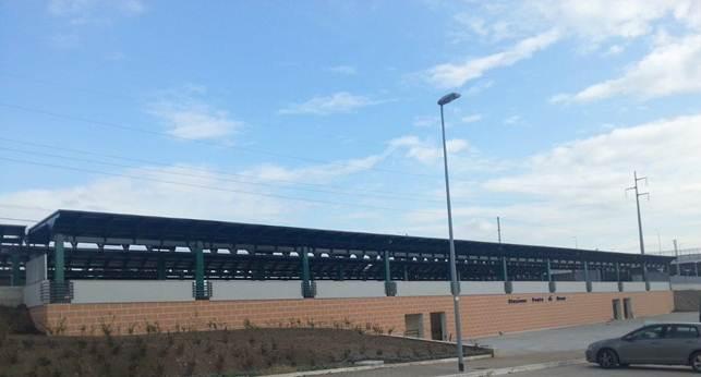 La nuova stazione Ponte di Nona lungo la FL2 - Foto FS Italiane