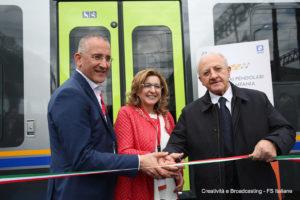 Mazzoncini, Morgante, De Luca - Foto FS Italiane
