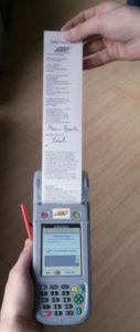 Il nuovo verbale elettronico - Foto ATM