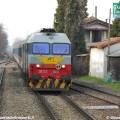 Treno a materiale ordinario Reggio Emilia-Sassuolo - Foto Giovanni Giglio
