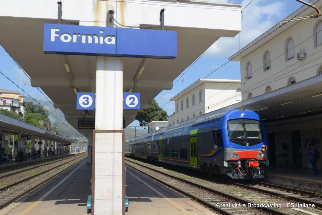 Il nuovo Vivalto a Formia - Foto FS Italiane