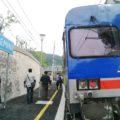 ALn776 di Busitalia in sosta a Sangemini - Foto Giovanni Giglio