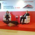 Barbara Morgante, ad di Trenitalia, e Gianfranco Battisti, direttore Divisione Passeggeri Lunga Percorrenza e Alta Velocità - Foto GdT