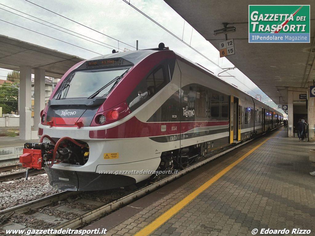 ETR526 Jazz in livrea Trentino in stazione a Trento - Foto Edoardo Rizzo