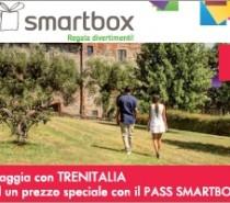 In treno a prezzi ridotti con i cofanetti regalo Pass Smartbox di Trenitalia