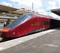 Italo pronto a partire da Roma Termini con i collegamenti no-stop