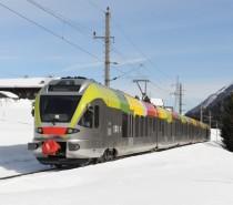 Flirt Sad in prova per ampliare i servizi transfrontalieri tra Alto Adige e Tirolo