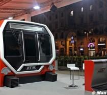 Presentato il nuovo treno per la metropolitana di Milano