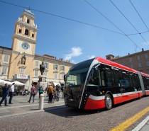 Finalmente in servizio a Parma eBus, il filobus di nuova generazione