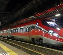 Il Frecciarossa 1000 a Milano per superare i 330km/h
