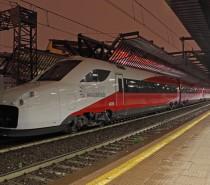 Il V250 di AnsaldoBreda effettua test sulla Av Milano-Torino