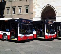 Otto nuovi bus Man Lion's City di Seta in servizio a Piacenza
