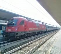 In treno all'Oktoberfest 2014 di Monaco con gli EC di DB e ÖBB