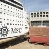 A Palermo Fincantieri allunga una nave da crociera Msc