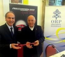 Accordo tra Orp e Trenitalia per promuovere i pellegrinaggi via treno
