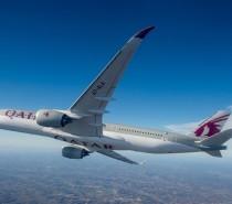 Il 13 dicembre Airbus consegna il primo A350 XWB a Qatar Airways