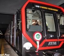"""Sulla """"rossa"""" arriva Leonardo, il nuovo treno della metropolitana di Milano"""