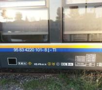 Marcatura UIC per gli ATR220 Pesa di Trenitalia