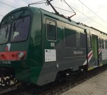 """In servizio """"Mortirolo"""", sesto e ultimo convoglio revampizzato di Ale582 per la Valtellina"""
