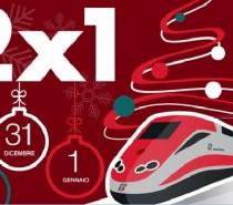A Natale e Capodanno con Trenitalia viaggi in due e paga uno