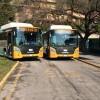 Quattro nuovi bus Scania a metano in servizio a Brescia