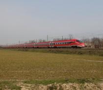 Test AV tra Milano e Torino per l'Etr400 FrecciaRossa1000