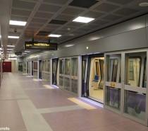 La metro 5 lilla di Milano in servizio sull'intera linea da Bignami a San Siro