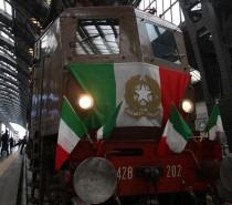 Il presidente Mattarella visita lo storico treno presidenziale