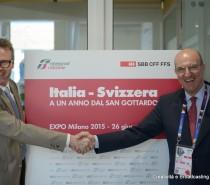 Incontro tra i vertici FS Italiane e FFS in vista dell'apertura della Galleria di base del San Gottardo