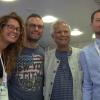 Il Premio Nobel Yunus da Milano a Napoli su un Frecciarossa
