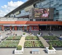 Un Urban Green Garden nel cuore della stazione di Roma Tiburtina