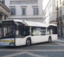 Solaris festeggia i 500 bus in Italia con un Urbino12 alla Sun di Novara