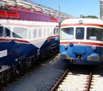Treno storico delle FUC al Porto Vecchio di Trieste in occasione della Barcolana 2015