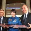Il tour post missione di Samantha Cristoforetti prosegue a bordo di Frecciarossa