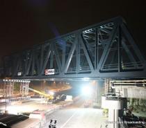 Varato il nuovo ponte del passante AV per la Bologna-Venezia