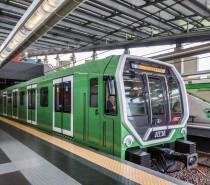 In servizio sulla M2 di Milano il primo Leonardo in livrea tutta verde