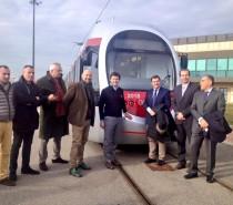 Consegnato a Firenze il primo tram Sirio per le future linee 2 e 3