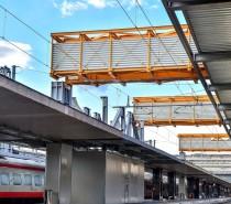 Varata la prima sezione del parcheggio sopra i binari di Roma Termini