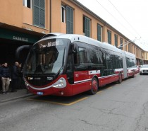 Debutto ufficiale per il filobus Crealis Neo di Bologna
