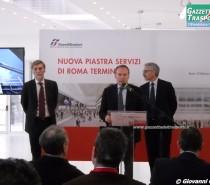 Il Ministro Delrio visita la nuova Piastra Servizi di Roma Termini